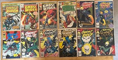 GHOST RIDER Lot of 38 Marvel Comic Books -culled from multiple Volumes. Big Lot!