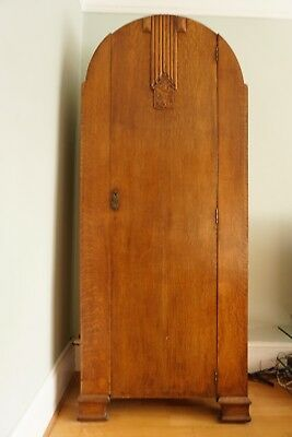 ART DECO OAK CUPBOARD WITH ICONIC PERIOD FEATURES (c1930'S)