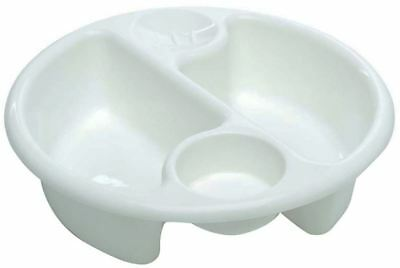 The Neat Nursery Company CIRCULAR TOP 'N' TAIL BOWL Newborn Baby Bathing BN