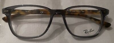 869898c9ebd Ray Ban RB 7119 5629 Grey   Havana Glasses Brille Eyeglasses Frames Size 53