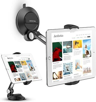 AboveTEK SUCTION CUP PHONE TABLET HOLDER WINDSHIELD CAR MOUNT IPAD MINI STAND