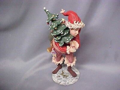 "1985 Duncan Royale History Santa II IRELAND PIXIE ELF 10 1/2"" Limited wbooks"