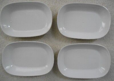 Vintage Eastern Airlines Set Of 4 First Class Ceramic Dish/plate Pfaltzgraff Usa