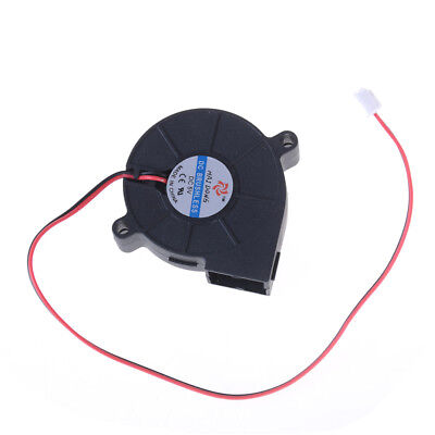 5V 0.1-0.3A Black Brushless DC Cooling Blower Fan 5015S 50x15mm Vv