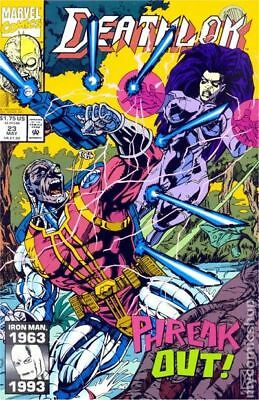 Deathlok (1st Series) #23 1993 VF Stock Image