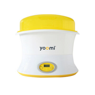 Yoomi Multi-Function Electric Bottle Clean Steam Sterilizer MIlk Heater I6C6