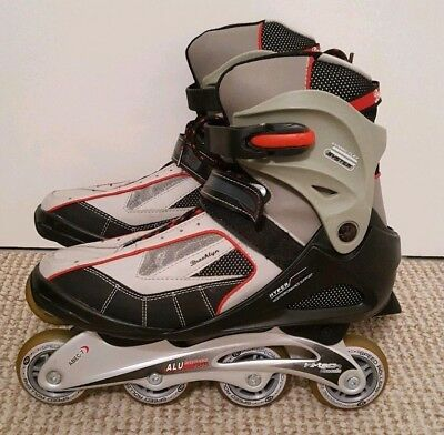 SFR roller blades mens inline skates 11 45 12 Brooklyn grey red black
