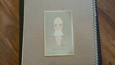 Vintage Antique Kewpie Cook Postcard Rose O'Neill Rare original