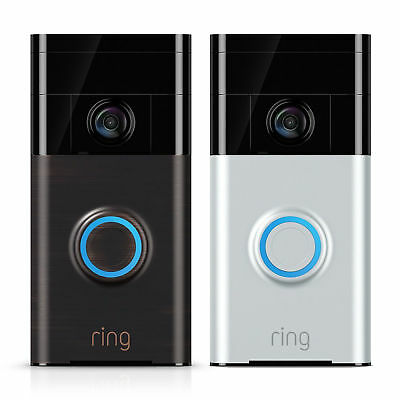 Ring Wi-Fi Enabled Video Doorbell - Two-Way Audio - HD Video - Night Vision NEW