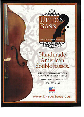 2012 Print Ad Upton Bass Upright Double Basses