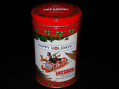 1989 Limited Edition Life Savers Holiday Keepsake Tin Mint Condition - Free Ship