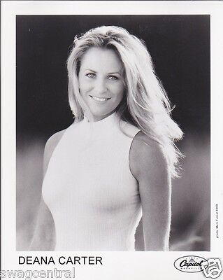 Deana Carter Original 8x10 Press Kit Publicity Photo Rare Portrait