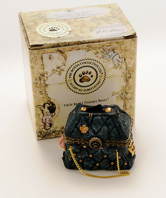 Boyds Bears Treasure Boxes #82504 Mary Lou's Bottomless Purse, in Box