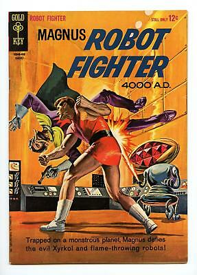 MAGNUS ROBOT FIGHTER #7 HIGH GRADE (Gold Key 1964, Manning art)
