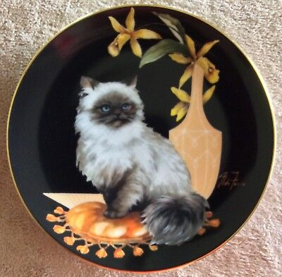 """""""Cerissa"""" The Sophisticated Ladies Collection by Aldo Fazio, Cat Plate"""