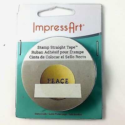 Impress Art Stamp Straight Tape For Stamping Metal Jewellery Making