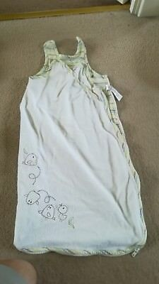 Mothercare baby sleeping bag 0-3 months, 1 tog, unisex, like Grobag, Dreampod