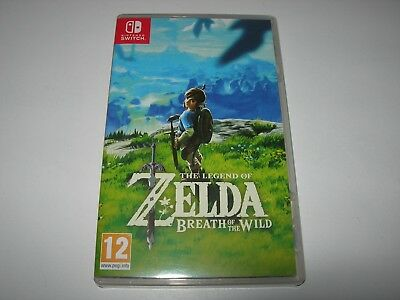 Nintendo Switch : LEGEND OF ZELDA : BREATH OF THE WILD -  Box ONLY - NO GAME!!
