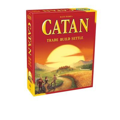 Catan Board Game Trade Build Settle Fifth 5th Edition Brand New Factory Sealed..