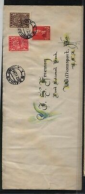 Lithuania  great penmanship cover to  US   1934     MS0922