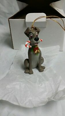 TRAMP DISNEY GROLIER Christmas Magic Ornament 26231 130 From Lady and the Tramp