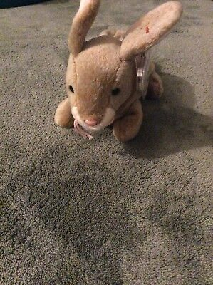 Ty Beanie Baby Nibbly The Rabbit 1999 Retired