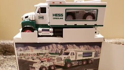 2008 Hess toy truck  and front loader Mint removed from box for pictures only