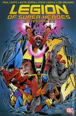 Legion of Super-Heroes An Eye for an Eye TPB (DC) #1-1ST 2007 FN Stock Image