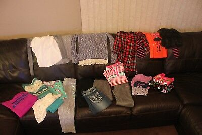 Lot of Girls Clothes all Size L 10/12 Justice, Old Navy, Children's Place EUC