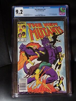 New Mutants #14 CGC 9.2 — White Pages — New Case — No Reserve