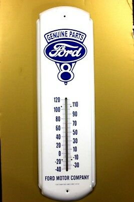 Vintage FORD V-8  Genuine Parts Thermometer Ford Motor Company MINT CONDITION !