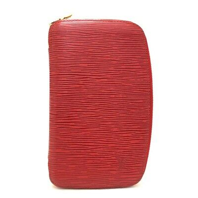 Authentic Louis Vuitton Epi Agenda Geode Red Leather Notebook Cover /r550