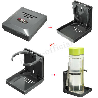 UK Foldable Folding Car Drinking Drink Cup Bottle Holder Boat Marine Caravan Box