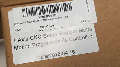 1 Single Axis CNC Servo Stepper Motor Motion Programmable Controller St-pmc1 new