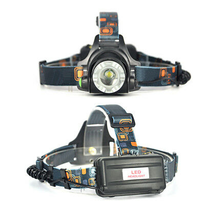 Zoomable XM-L T6 LED HeadLamp 18650 Head Camping Light Torch Flashlight Lamp