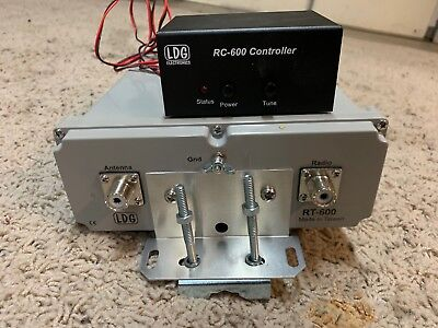 LDG Electronics RT-600 Combo Remote Antenna Tuners RT-RC-600