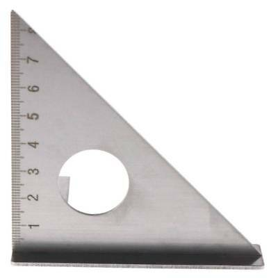 Woodworking Ruler Layout Square Miter Triangle Rafter 45° 90 degree Metric Gauge