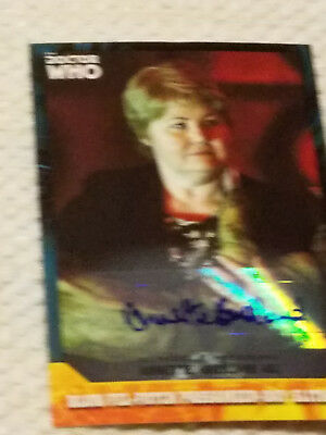 Doctor Who Signature autograph card ANNETTE BADLAND