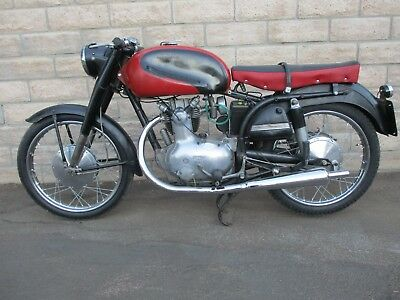 1954 Other Makes  1954 PARILLA  175 TURISMO SPECIALE.  DUCATI style Italian classic motorcycle.