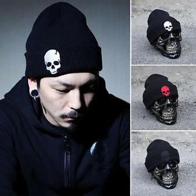 ab08b6da457ca Men Women Knit Baggy Skull Hip Hop Beanie Hat Winter Warm Ski Knitted Hat  Cap