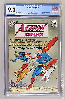 Action Comics (DC) #266 1960 CGC 9.2 1465114020