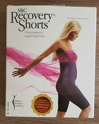 SRC Recovery Shorts, Post Pregnancy Black, Size XXL, Good Condition