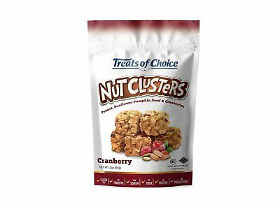 Treats of Choice Nut Clusters Cranberry 4 Pack