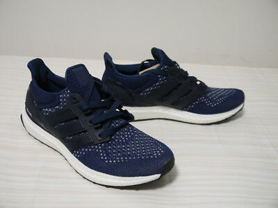 hot sale online bac30 85b54 ADIDAS ULTRA BOOST S77415 Collegiate Navy (1.0) Deadstock Size 8.5 Men's  Shoes