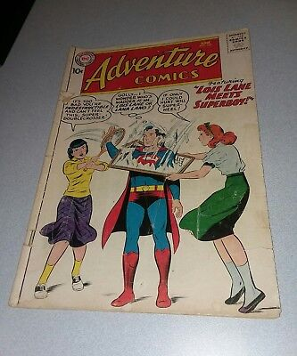Adventure Comics #261 superboy meets lois lane 1959 Green Arrow, Aquaman dc lot