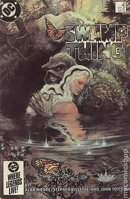 Swamp Thing (2nd Series) #34 1985 FN Stock Image