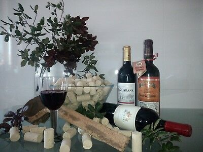 100 natural Corks Wine, size 45mmX24mm maded with natural cork and trated.