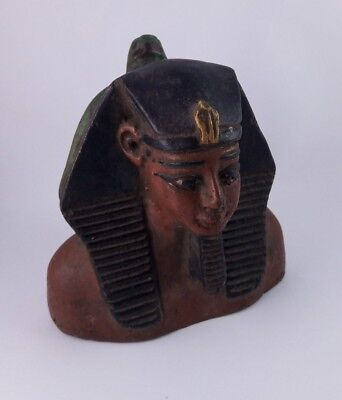 Rare Ancient Egyptian Antique Ramses Ii With Horus New Kingdom 1279-1213 Bc