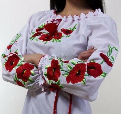 Embroidered blouse for women Maki large Size XXL