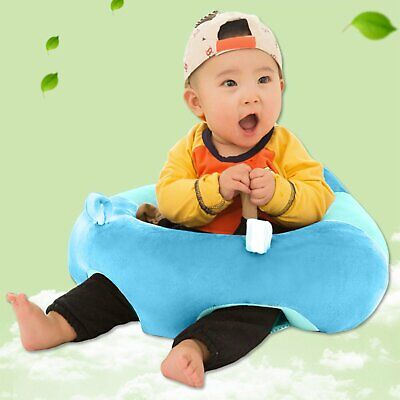 Baby Kids Support Seat Sit Up Soft Chair Cushion Sofa Plush Pillow Toy Bean Bag